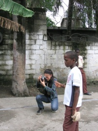 Documenting in Haiti