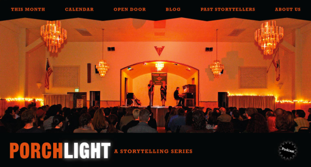 porchlight podcast website