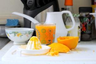 Fresh Squeezed Orange Juice // San Francisco, California.