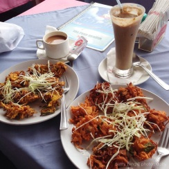 Pakora and Milkshakes from Garzia's