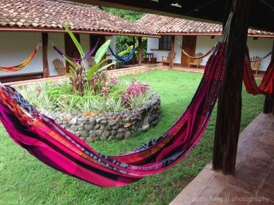 Hammocks for each cabana at Hotel Santa Catalina