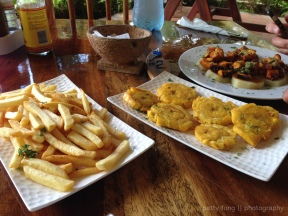 Plantains and Octopus at Hotel Santa Catalina