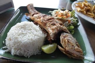 Fried Fish at Mama Ines